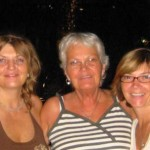 Gretchen, mom and me