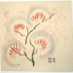 Bare Trees: Plum Blossom on Velvet